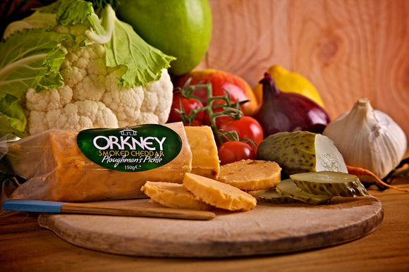 Island Smokery - Smoked Cheddar Ploughmans Pickle 150g (COLLECTION ONLY)