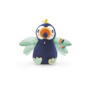 FLYING ACTIVITY PLUSH ALBAN THE TOUCAN