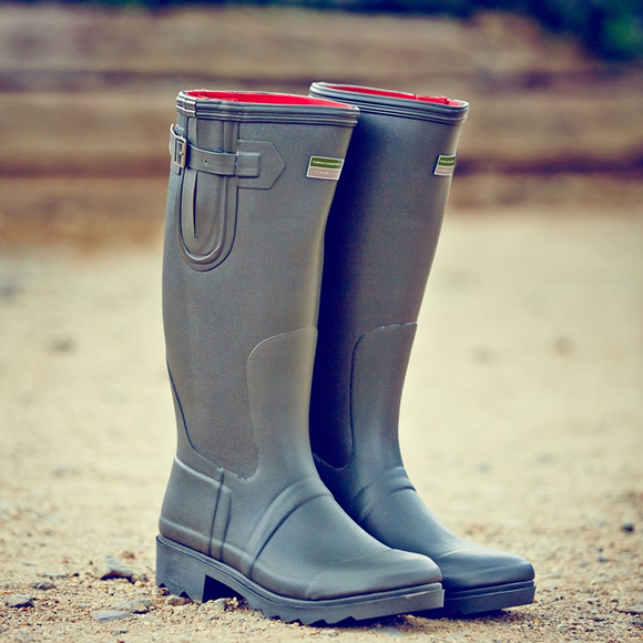 Town & Country Rutland Green Wellington Boots
