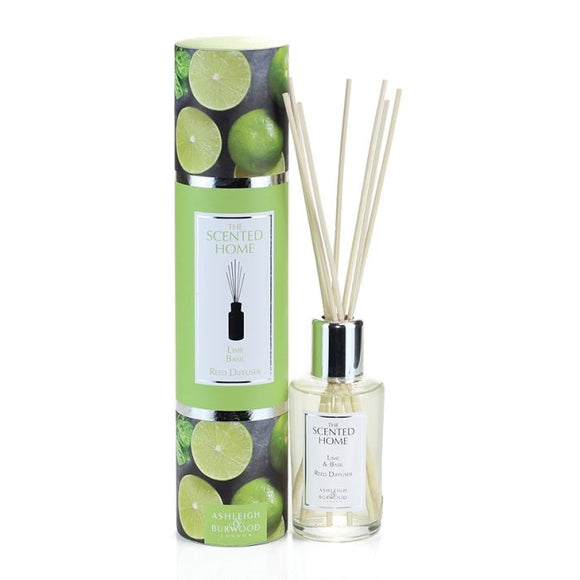 Ashleigh & Burwood Reed Diffuser - LIME & BASIL