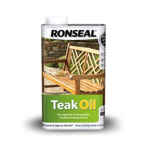 Ronseal Teak Oil Clear 1L