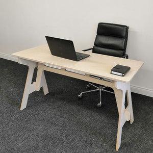 Crafted Home Office Desk - Image 1