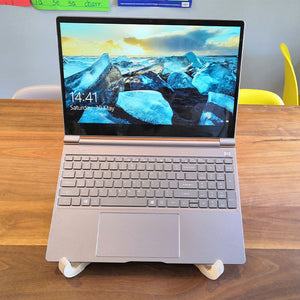 Laptop Stand in use