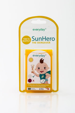 New! SunHero Sunscreen indicator 10 pack