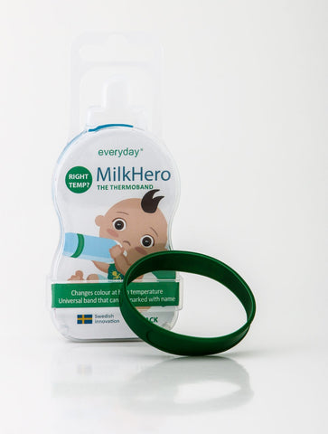 New! MilkHero Temperature Band single