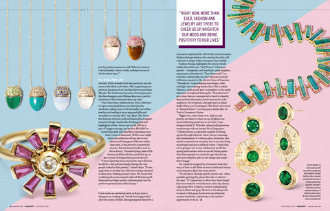 Jewelry Connoisseur by Rapaport - Bring it on 2021!  January 2021 Campbell + Charlotte Jewelry