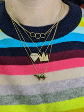 Load image into Gallery viewer, Juju Dino Charm Necklace