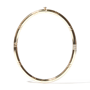 The Crew Bangle Bracelet - Diamond