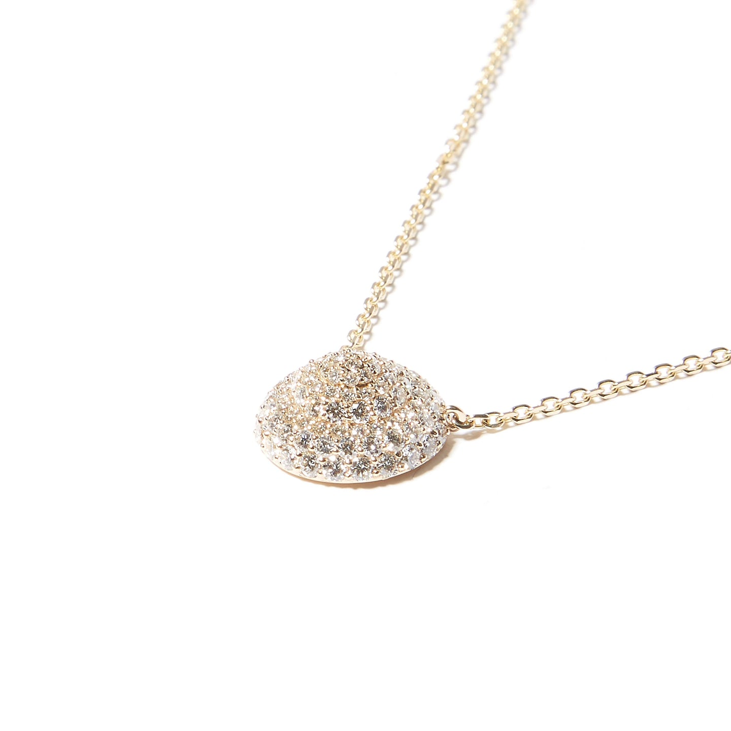 Evolve Large Pendant Necklace - Diamond