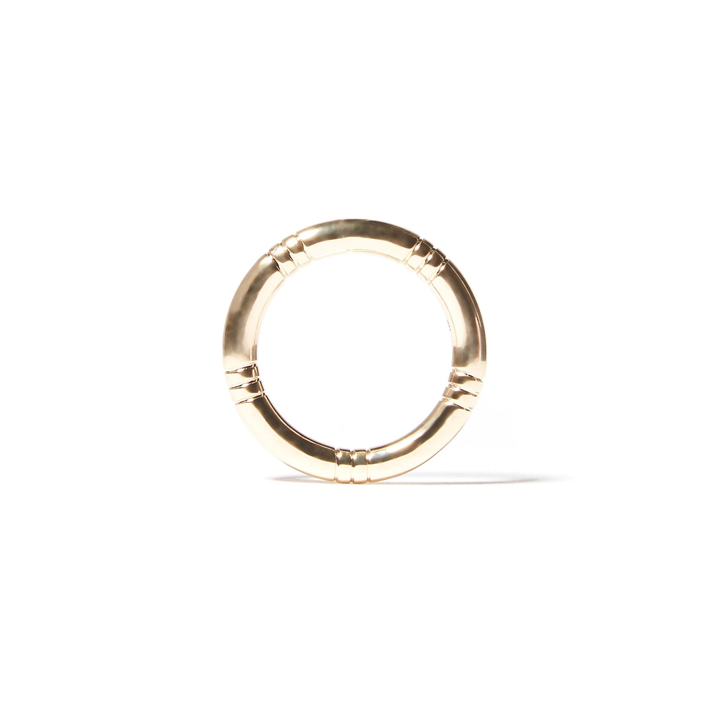 The Crew Stacking Ring - Etched
