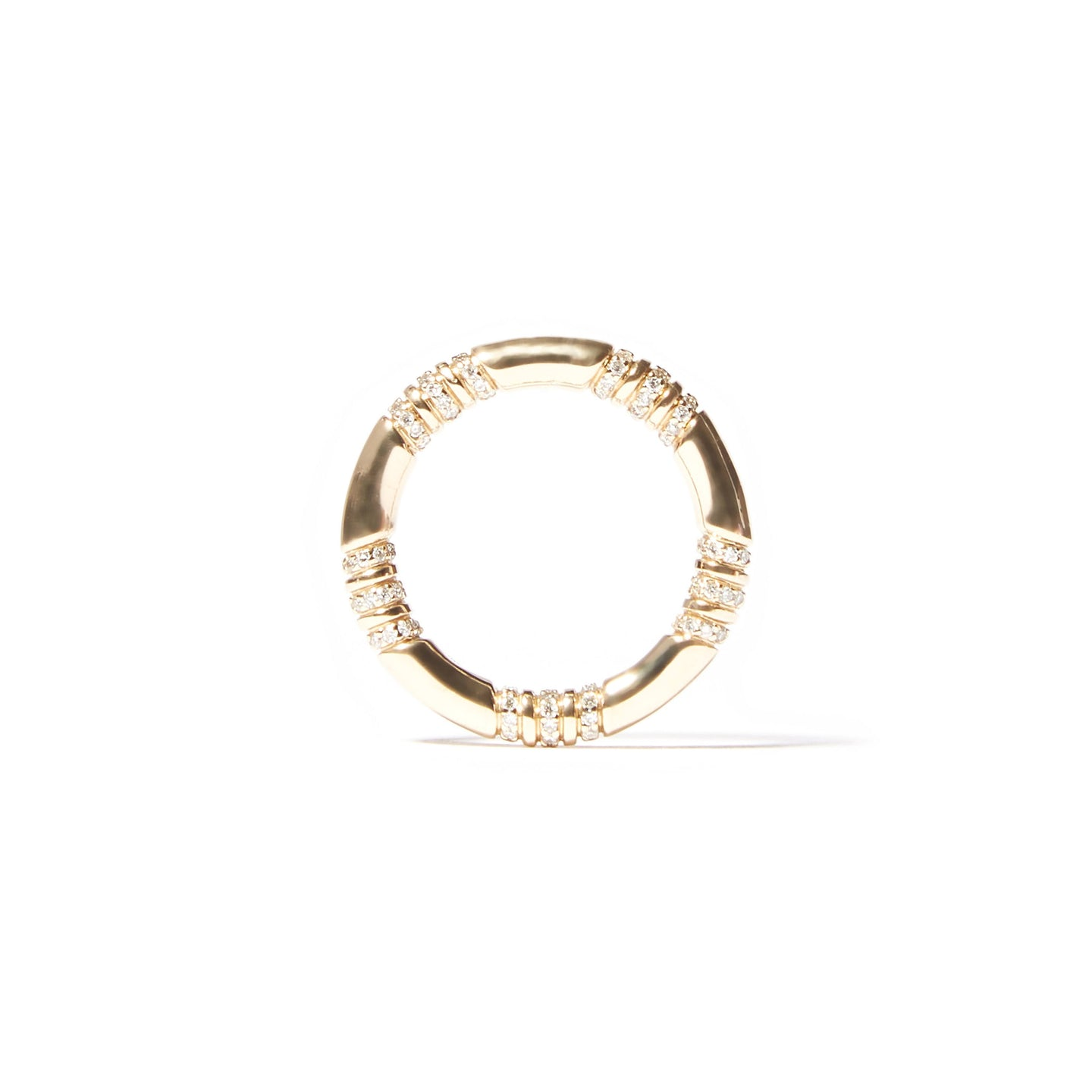 The Crew Stacking Ring - Diamond