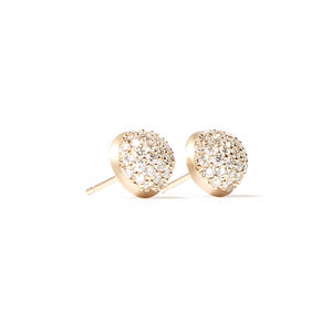 The Crew Dome Stud Earrings - Large