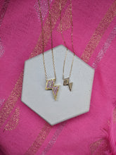 Load image into Gallery viewer, Mini Juju Lightning Bolt Charm Necklace