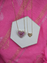 Load image into Gallery viewer, Mini Juju Heart Charm Necklace