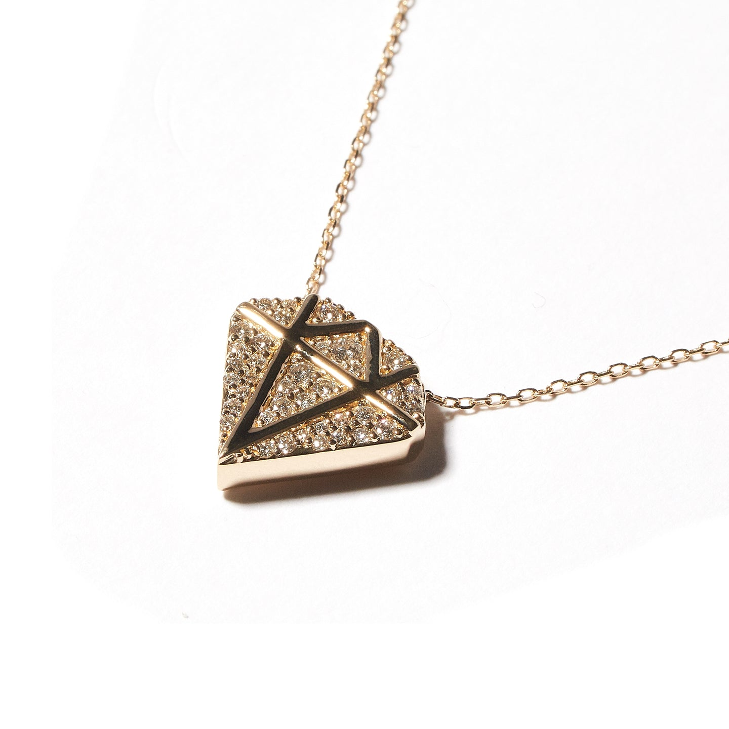 JuJu Diamond Charm Necklace