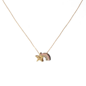 JuJu Shooting Star Charm Necklace