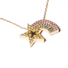 Load image into Gallery viewer, JuJu Shooting Star Charm Necklace