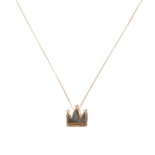 Load image into Gallery viewer, Juju Crown Charm Necklace