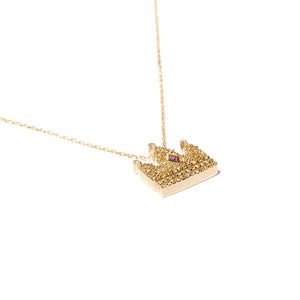 Juju Crown Charm Necklace