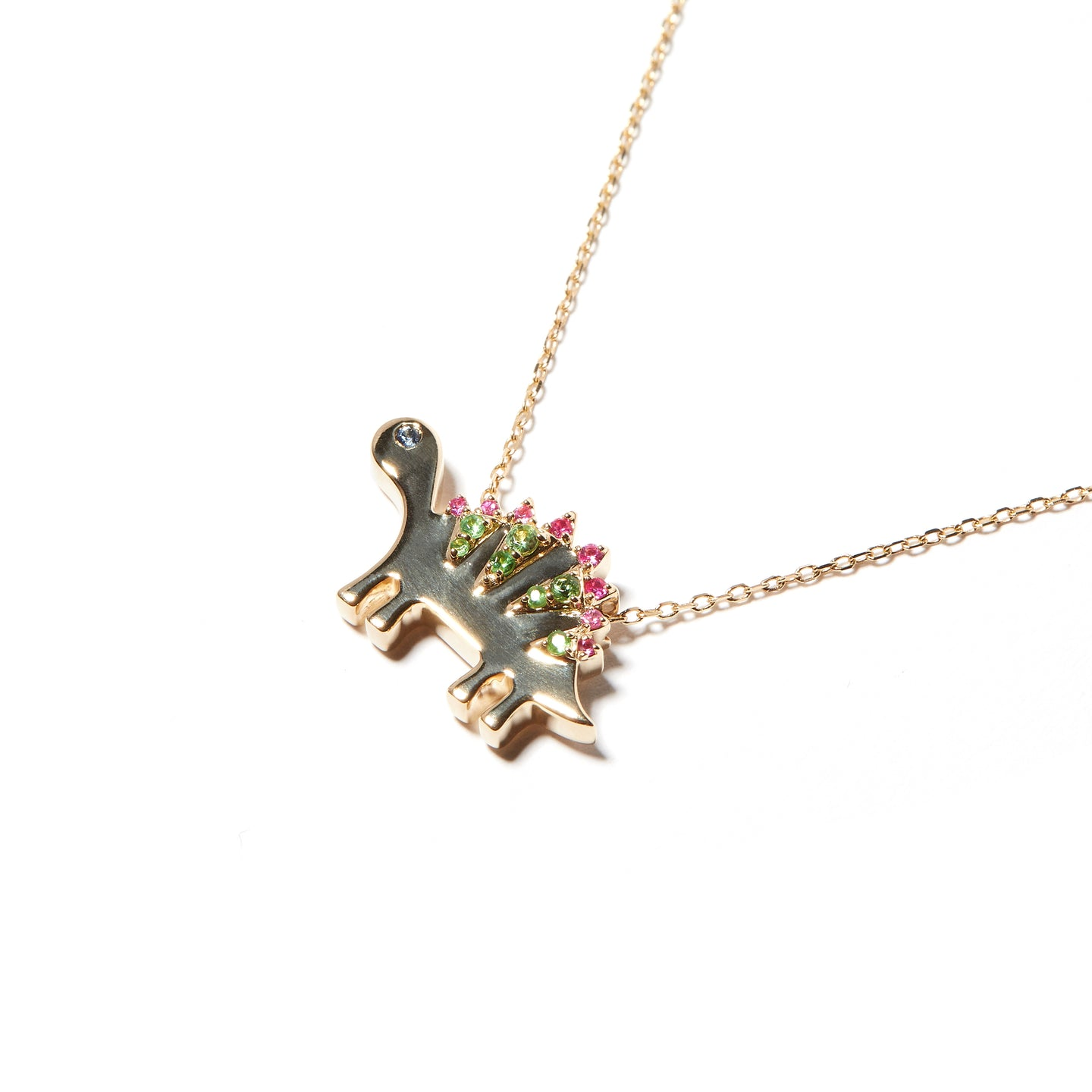 Juju Dino Charm Necklace