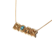 Load image into Gallery viewer, JuJu ROAR Charm Necklace - Tourmaline