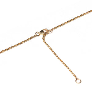 The Crew Triple Circle Necklace - Diamond