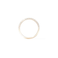 Load image into Gallery viewer, The Crew Knife Edge Stacking Ring - Diamond