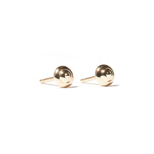 Evolve Mini Stud Earrings - Gold