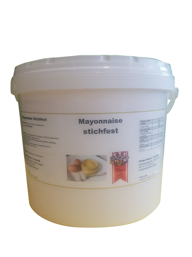 Mayonnaise Stichfest