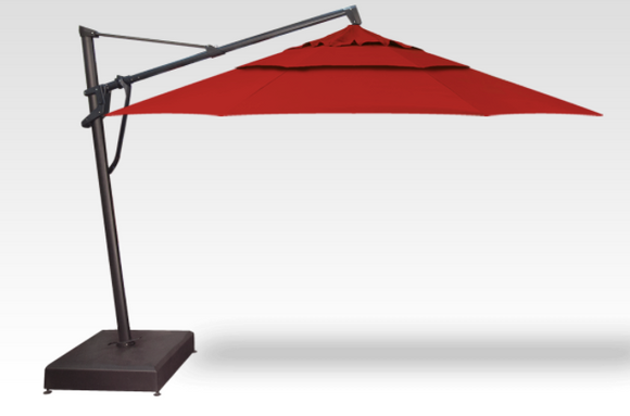 13' AKZ Plus Cantilever Umbrella with AKZ13 Base