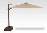 10' Square AG25 Cantilever Umbrella with AKZ Base