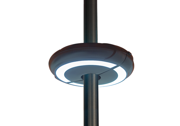 Halo Umbrella Light - Black