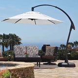 11' Round AG78 Cantilever Umbrella with AG Base