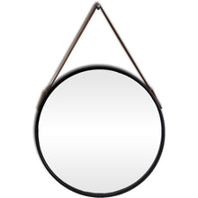 Load image into Gallery viewer, Gucci Round Mirror with leather strap