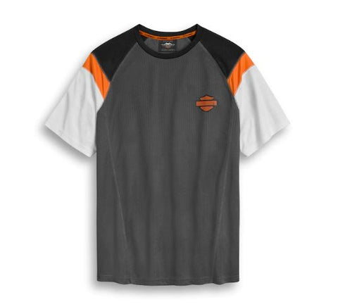 Camiseta Performance Mesh Colorblock para hombre 96383-20VM