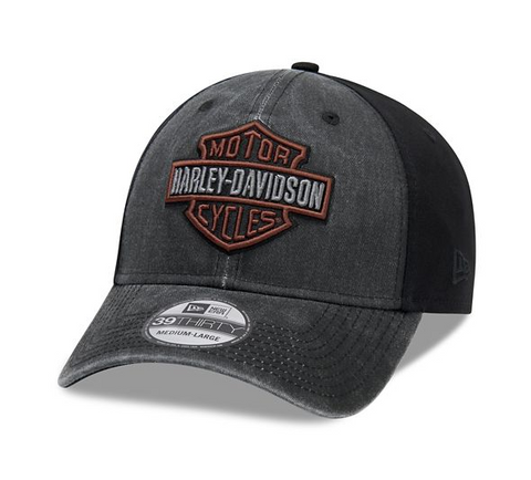 Gorra Para Hombre Harley-Davidson Washed Colorblock 39THIRTY 99407-20VM