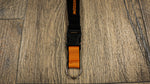 Harley-Davidson Bar & Shield a rayas H-D Break Lanyard, Naranja & Negro LY25766