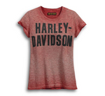 Blusa Harley-Davidson Tipo Jersey Color Roja 99051-18VW