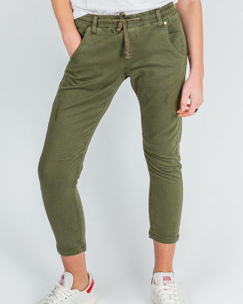 Active Denim Khaki Pants