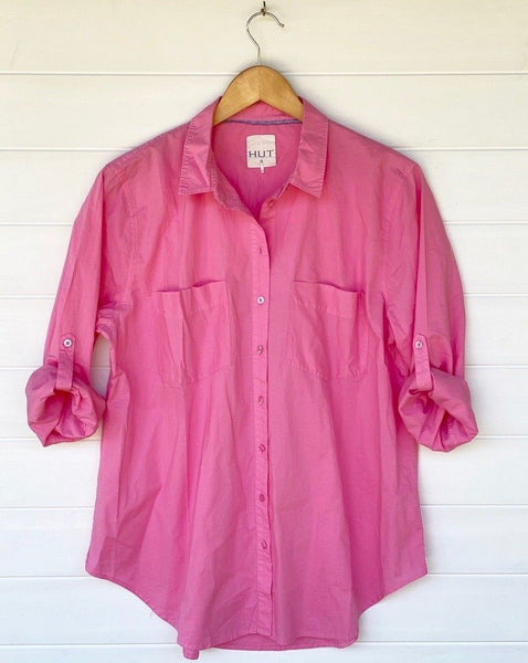 Pink Lemonade Boyfriend Shirt