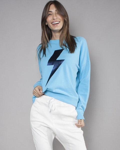 THE SLOUCHY SWEAT - BRIGHT BLUE BOLT