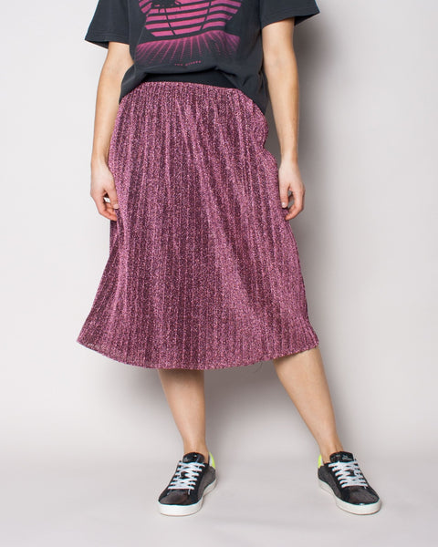 Sunray Skirt - Metal Rose