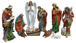 "Nativity Scene 11 pcs. 48"" - SYLA066A-48"