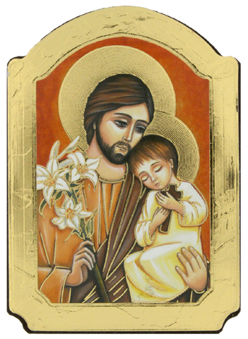 Year of St. Joseph Magnet Icon Made in Italy