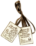 Brown Scapular - MSCAP-FELT
