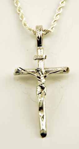 Necklace Cross - Collier Croix - Collar de Cruz Colgante X&AR29A-S
