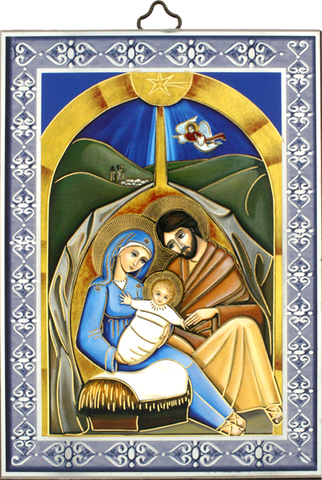 Nativity Icon-Icône-Icono PL-AZ07 Made in Italy