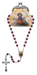 Our Lady of Knots Rosary and Pouch - R71M0251