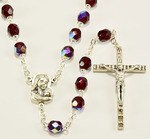 Crystal rosary - RC45AT-19