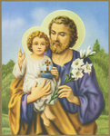 St.Joseph wall plaque - PLE3-10